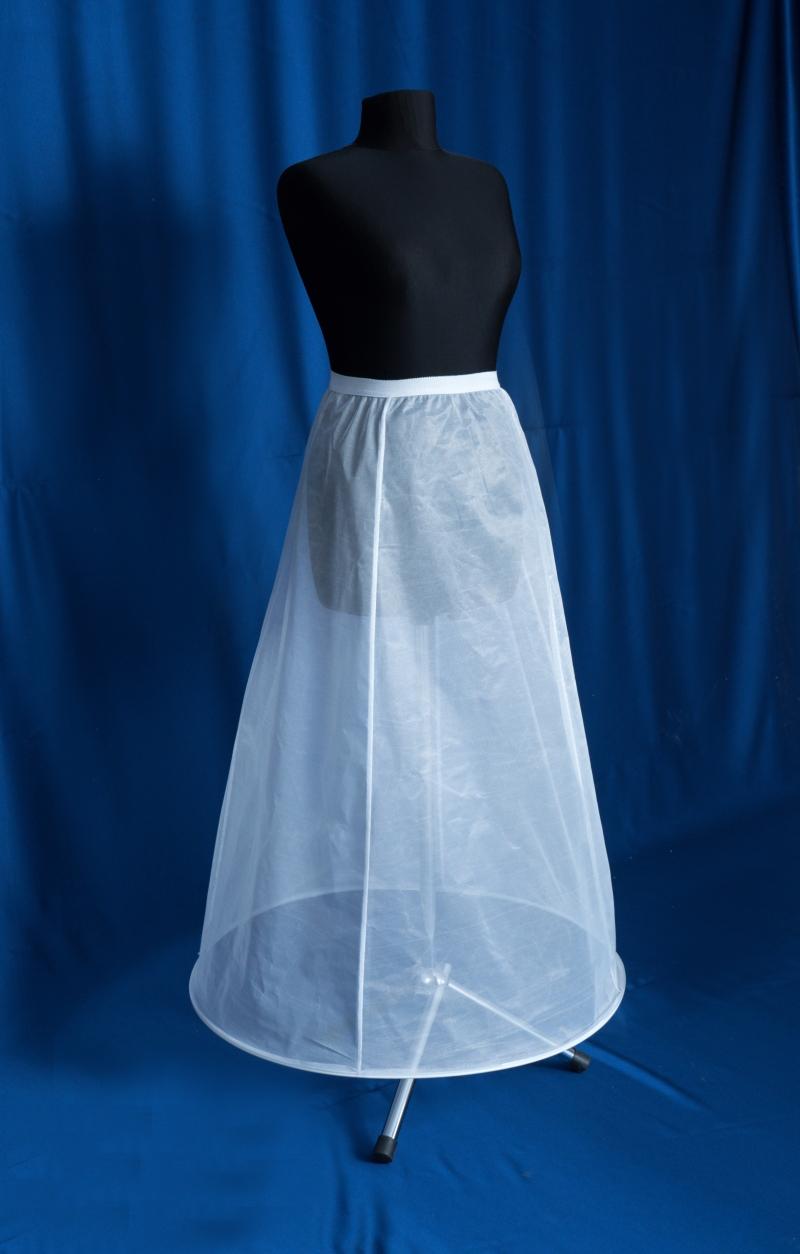 crinolina rochie de mireasa cu 1 cerc