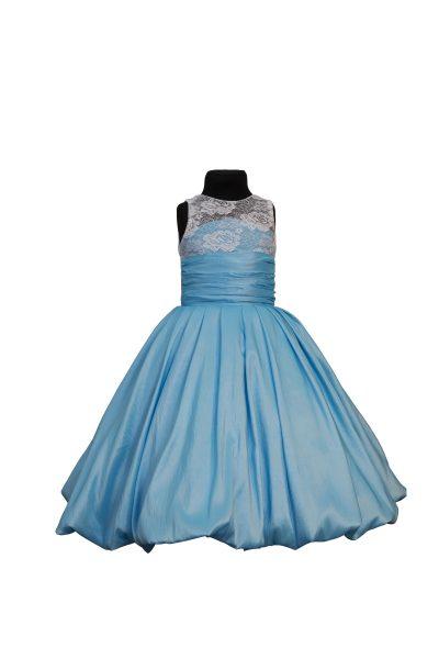 o rochie eleganta pentru copii, potrivita pentru serbari si petreceri
